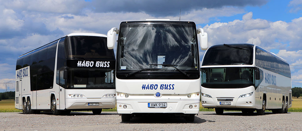 Hyr buss Stockholm